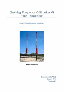 Transceiver Freq Calibration